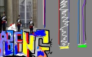 GRAFFEUR SUPPORT CONTEMPORAIN